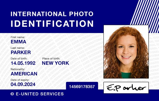 Ausweisnummer fake What is